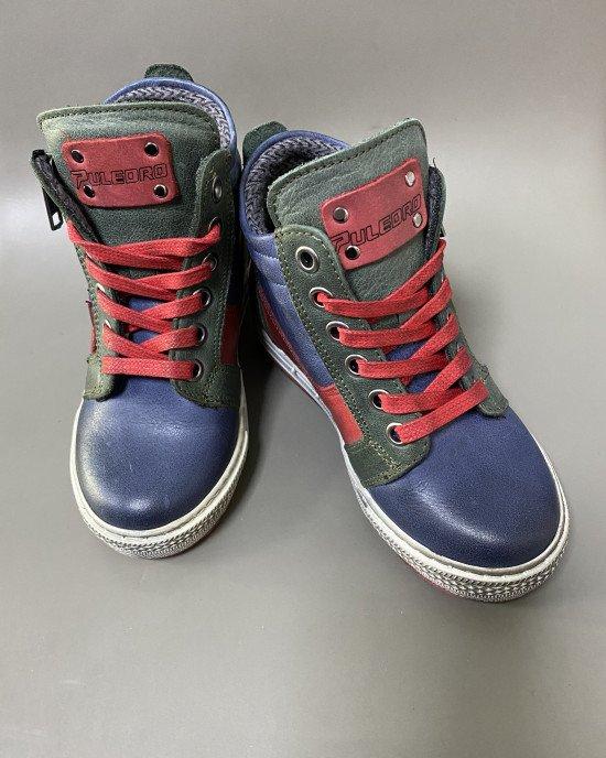 Ботинки из натуральной кожи с ортопедической стелькой