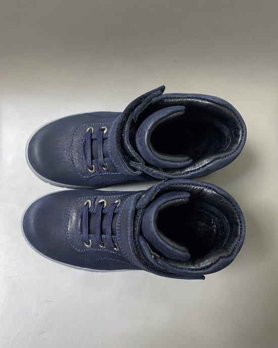 Ботинки из натуральной кожи утепленные