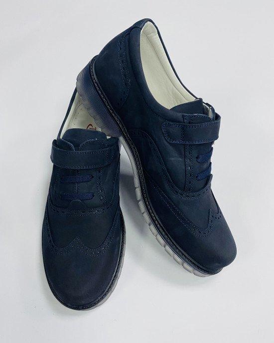 Туфли из натуральной кожи (нубук)