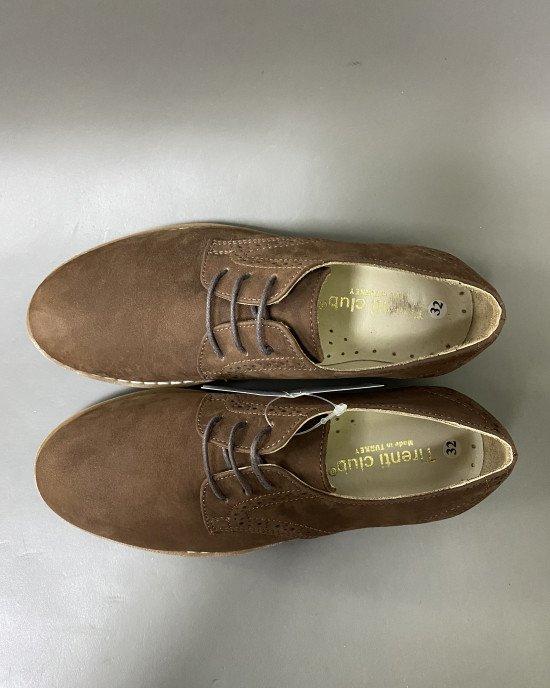 Туфли замшевые с ортопедической стелькой