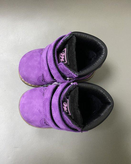 Ботинки ортопедические на липучках