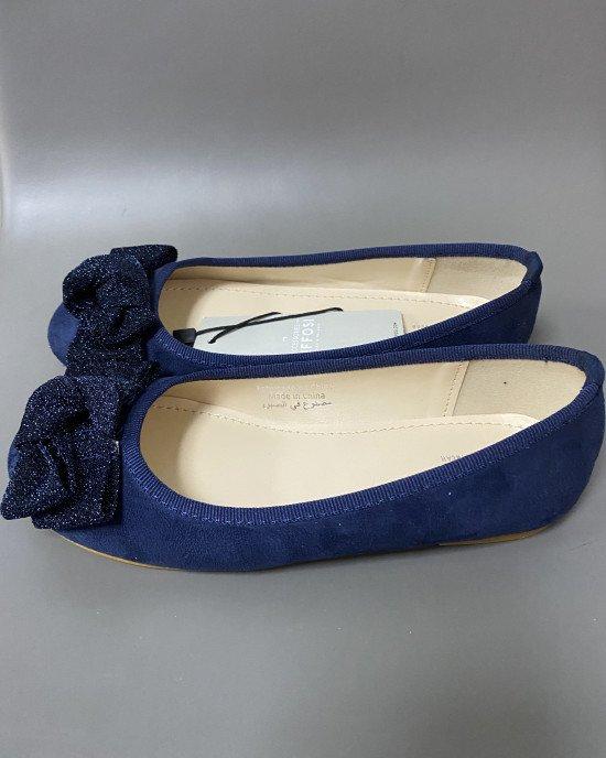 Туфли - балетки с декором
