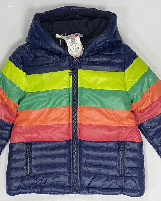 Куртка утепленная на флисовой подкладке с капюшоном