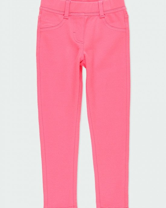 Брюки - леггинсы спортивные ярко - розового цвета