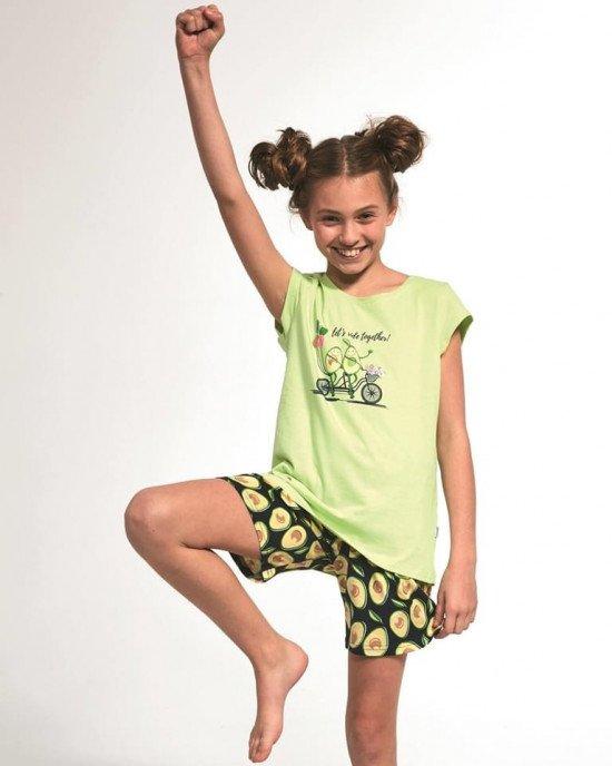 "Пижама (футболка + шорты) ""авокадо"""