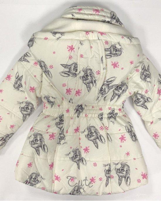 Куртка с флисовой подкладкой и высоким отложным воротом