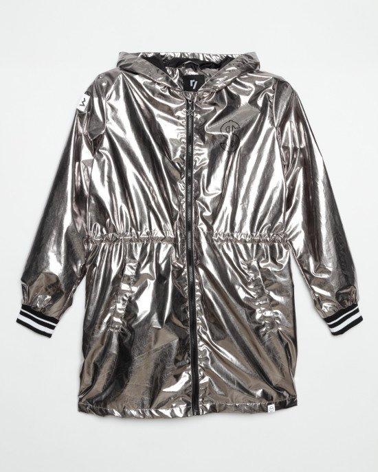 Куртка - ветровка удлиненная с подкладкой из хлопка