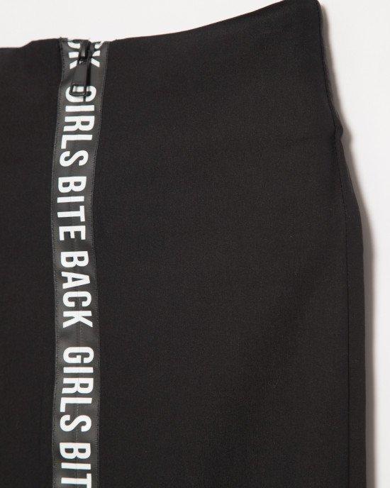 Юбка - карандаш черного цвета