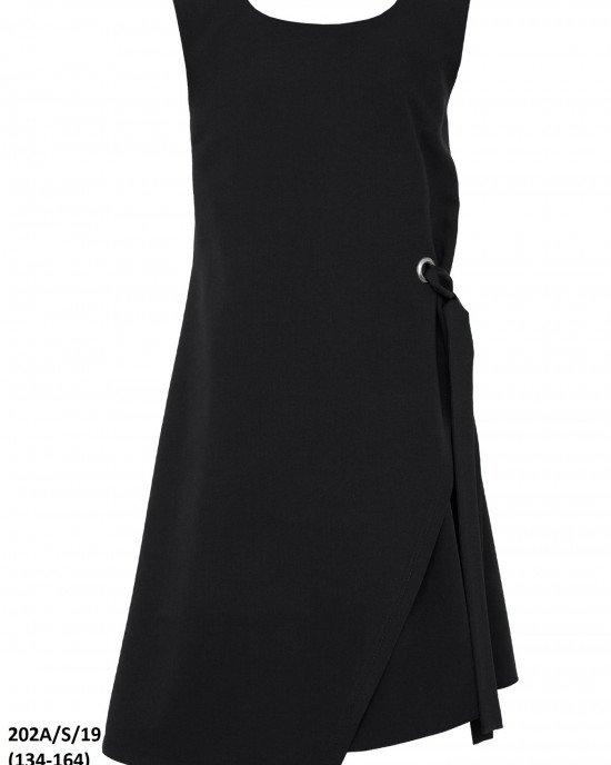 Платье-сарафан с асимметричным кроем