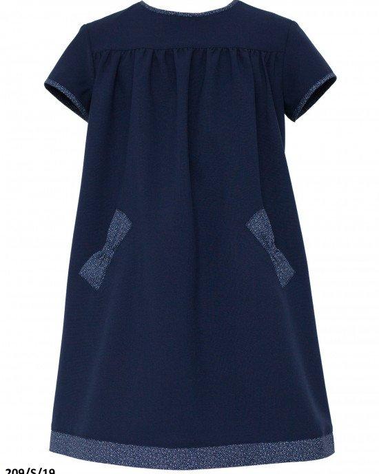 Платье школьное с карманами