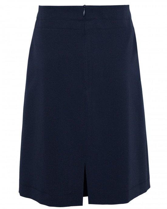 Юбка удлиненная синего цвета