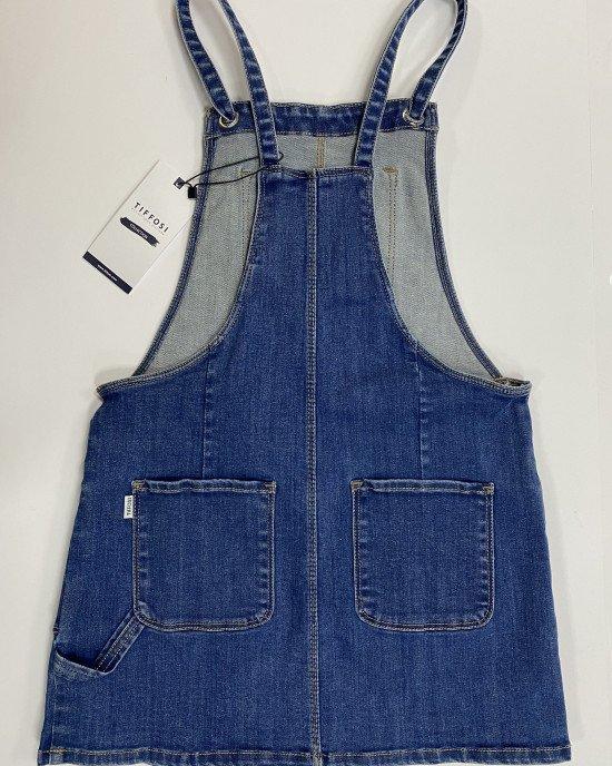 Сарафан джинсовый с карманами