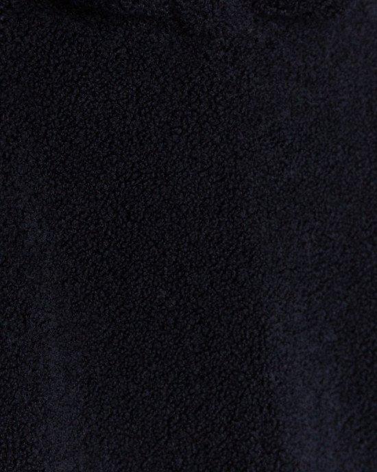 Худи зернистой структуры синего цвета