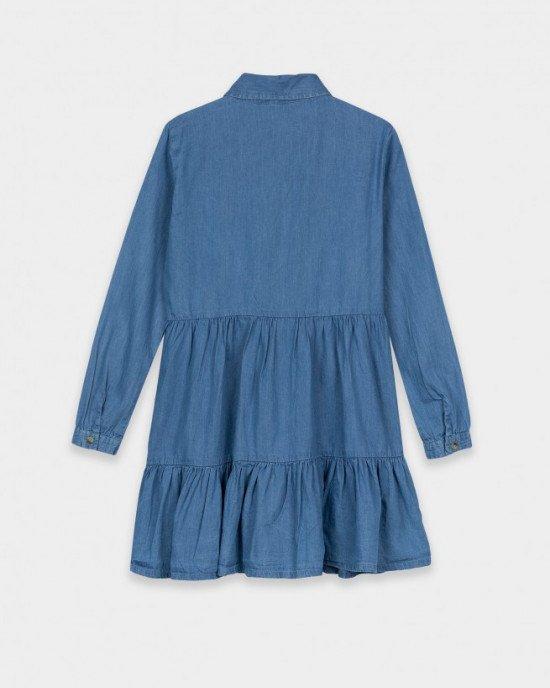 Платье - рубашка с длинными рукавами