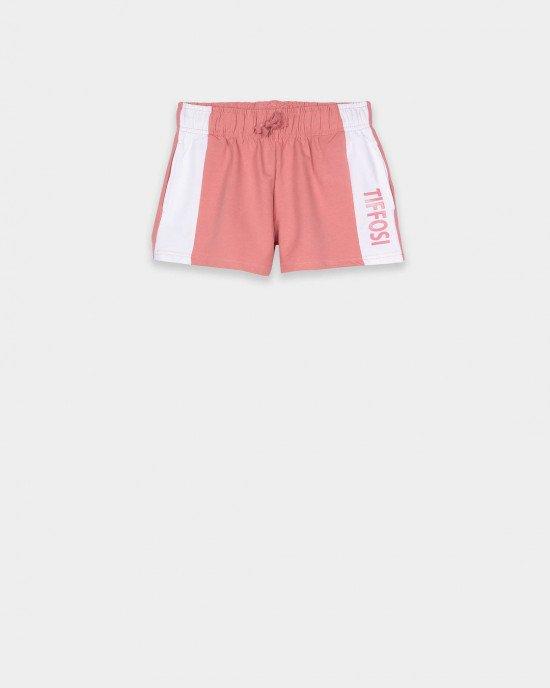 Шорты трикотажные бледно-розового цвета