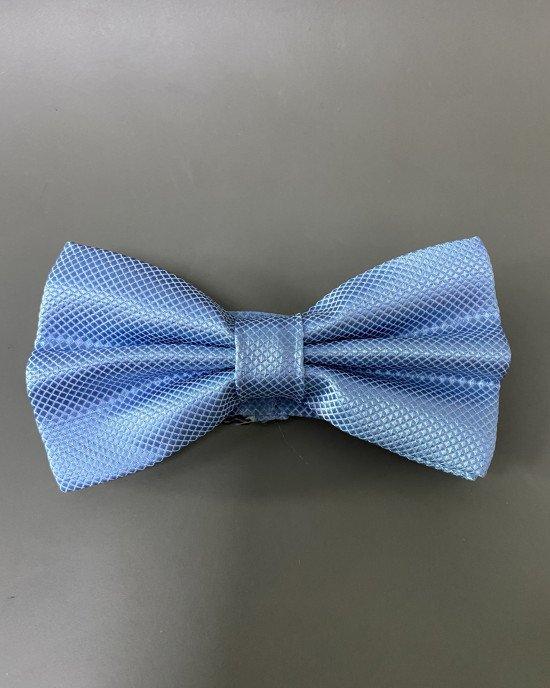 "Галстук ""бабочка"" голубого цвета"
