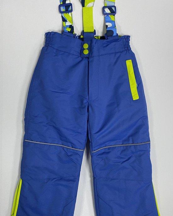 Полукомбинезон зимний (термо) голубого цвета
