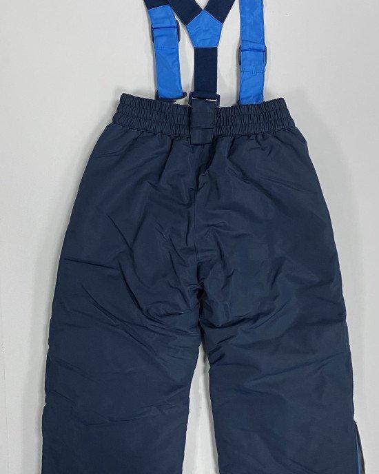 Полукомбинезон зимний (термо) синего цвета