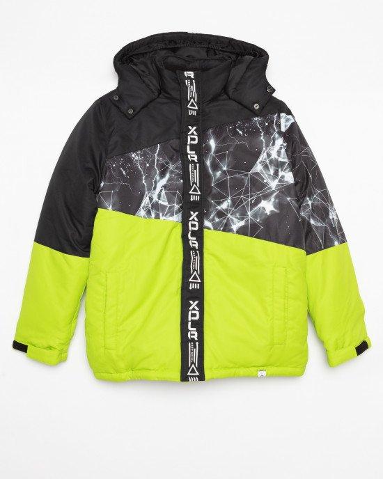 Куртка зимняя с флисовой подкладкой