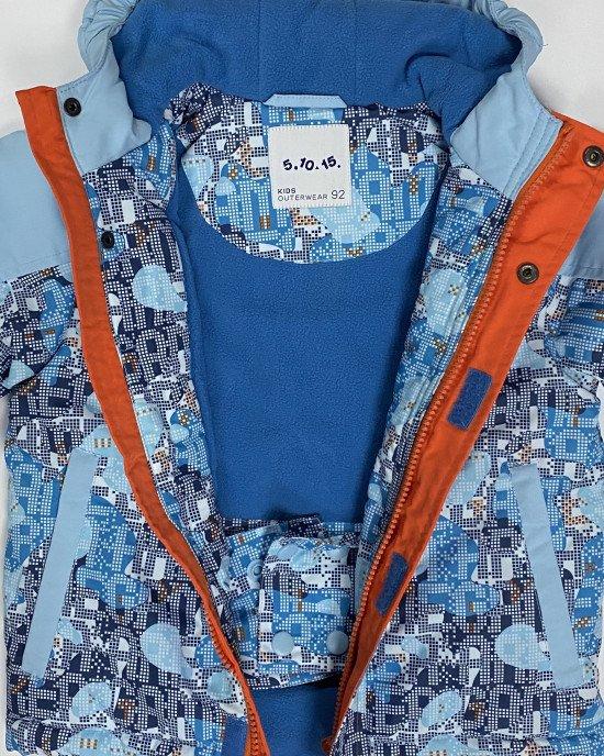 Куртка зимняя термо с флисовой подкладкой