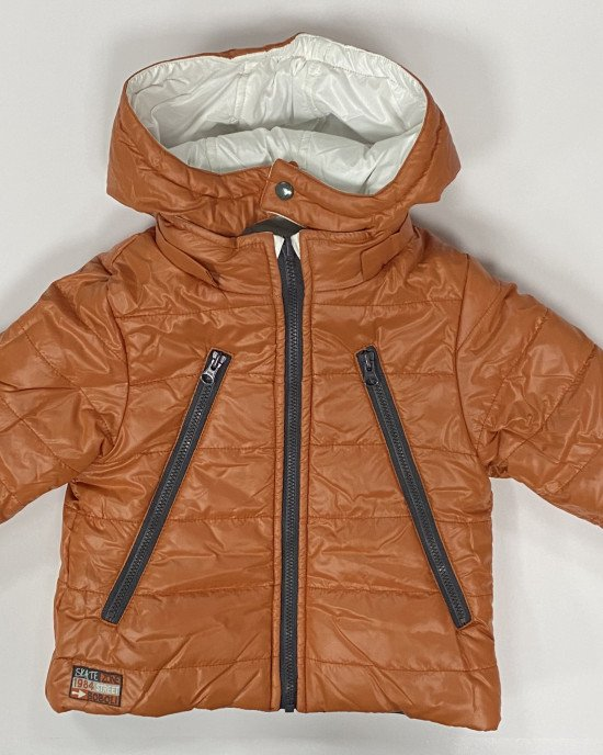 Куртка двусторонняя с капюшоном и карманами