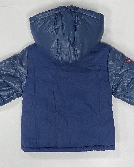 Куртка утепленная с флисовой подкладкой и накладными карманами