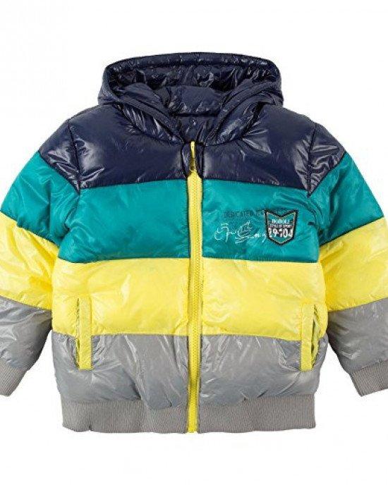 Куртка двусторонняя утепленная с капюшоном