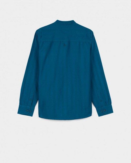 Рубашка с круглым воротником