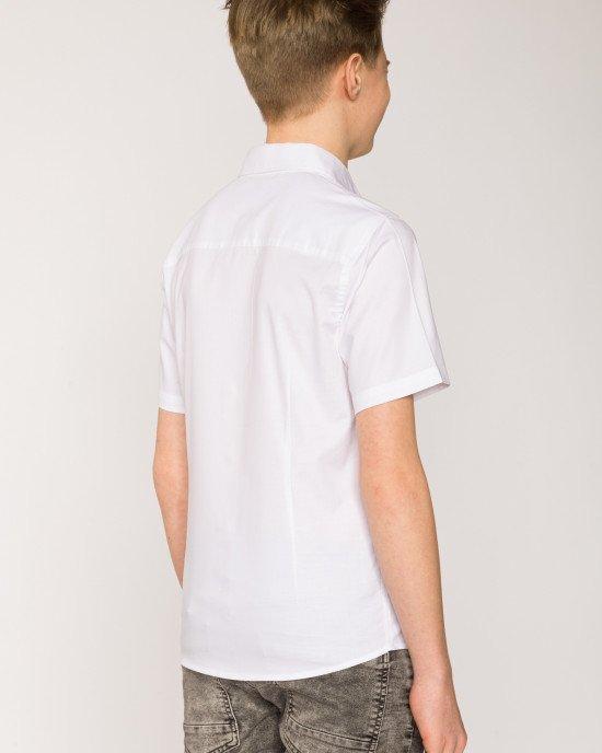 Рубашка с короткими рукавами белого цвета