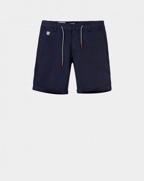 Шорты Regular Fit синего цвета