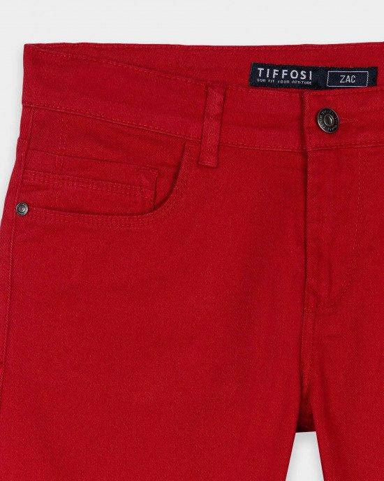 Шорты Regular Fit красного цвета
