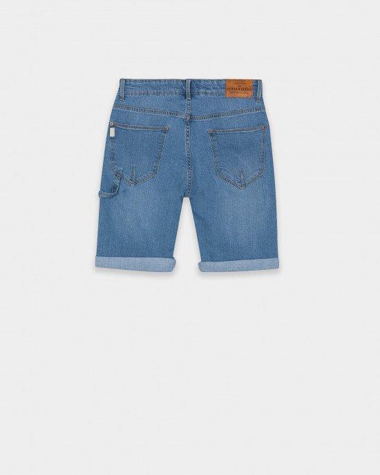 Шорты Regular Fit из джинсовой ткани